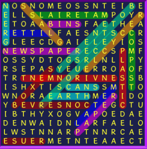 wordsearch recycling