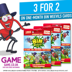 binweevils membership offer