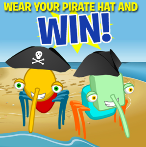 pirate hat binweevils