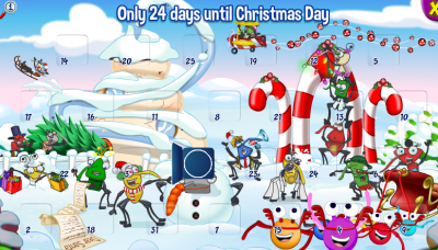 binweevils advent calandar look