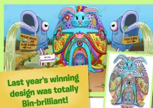 binweevils easter egg competition
